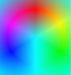 Smooth abstract rainbow gradient background vector image vector image