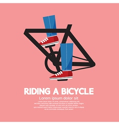Legs Spin Pedals vector image