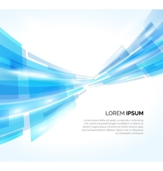 Abstract blue lines business background vector