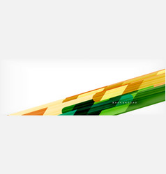 Abstract colorful lines modern geometric vector