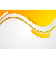 Abstract geometric wavy bright background vector