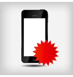 Abstract mobile phone vector