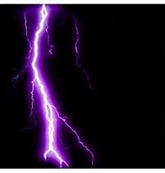 Abstract purple lightning flash background vector
