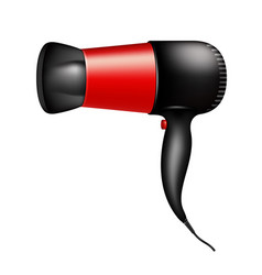 electric hair dryer vector image