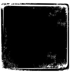 Grungy broken page frame vintage retro theme art vector