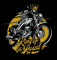 King road vector