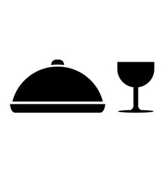 meal icon vector image