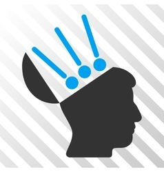 Open Mind Interface Icon vector