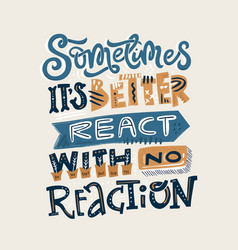 React with no reaction vector