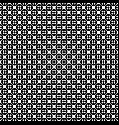 Seamless pattern texture with crosses vector