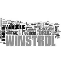 Winstrol the registered trademark of sanofi vector