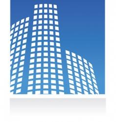 city real estate logo vector image vector image