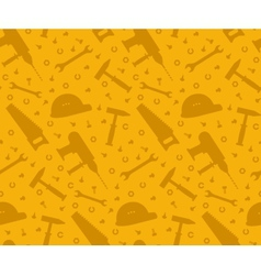 Construction tools seamless background vector