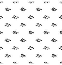 Sakura branch pattern simple style vector image