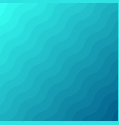 Abstract blue waves lines underwater background vector