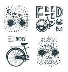 bicycle6 vector image