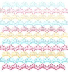 Colorful pattern background design vector