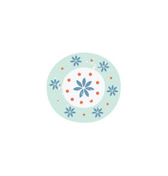 flower pattern simple background for simple vector image