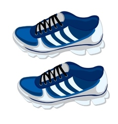 Footwear for sport vector image