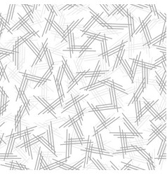 geometric seamless pattern with endless lines vector image