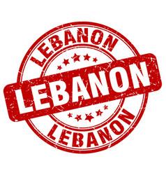 Lebanon stamp vector