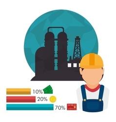 Petroleum and oil design vector