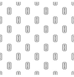 razor blade pattern seamless vector image