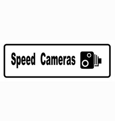 Speed cameras vector