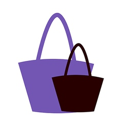 Two hand Bags vector