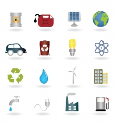 ecofriendly icon vector image vector image
