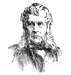 john bigelow vintage vector image