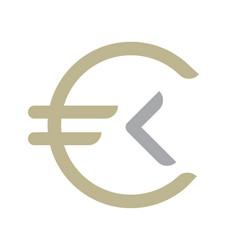 money coin logo vector image