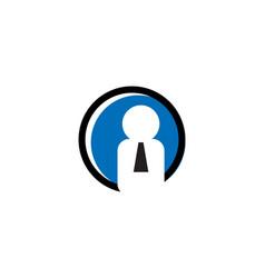 Employee logo vector