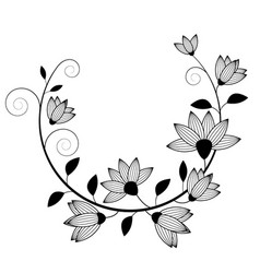 flowers image vector image