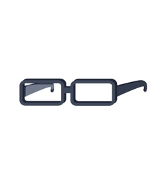 Glasses in Flat Design vector