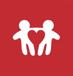 man love gay logo icon vector image