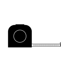 Measuring tape icon vector