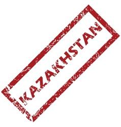 New Kazakhstan rubber stamp vector