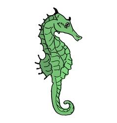 Seahorse design vector