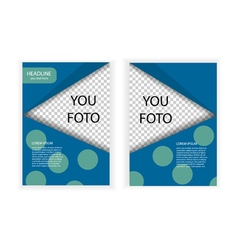 template banner size A4 vector image