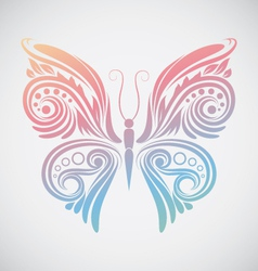 Decoration Butterfly vector image vector image