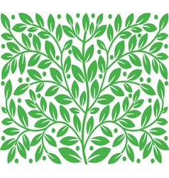 Background of leaves vector image