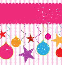 decorative and festival background vector image vector image