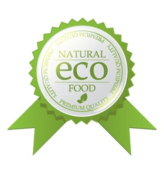 ECO badge vector image