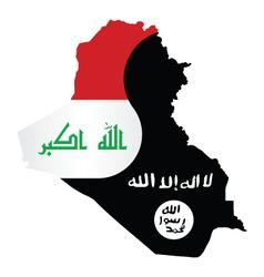 Iraq Conflict vector image