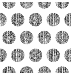 Seamless pattern with polka dots texture vector image