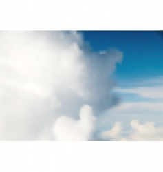 sky background vector image vector image