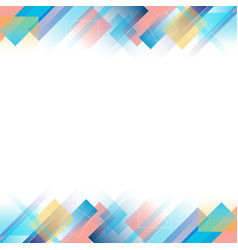 abstract color modern background vector image