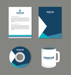 business printed advertising items vector image