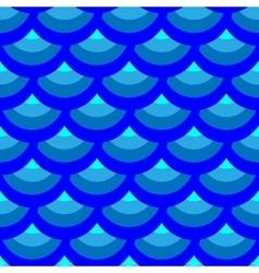 Half-round geometric seamless pattern 3005 vector image